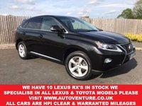 2015 LEXUS RX 3.5 450H SE 5d AUTO 295 BHP £22500.00