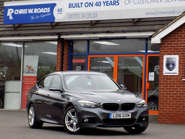 USED 2016 16 BMW 3 SERIES 3.0 330D M SPORT GRAN TURISMO 5d AUTO 255 BHP *Sat Nav & Leather*