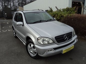 View our MERCEDES-BENZ ML 270