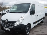 2015 RENAULT MASTER 2.3 LM35 BUSINESS DCI S/R P/V 1d 125 BHP LONG WHEELBASE MEDIUM ROOF VAN ONLY 39000 MILES £10995.00