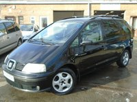 USED 2001 Y SEAT ALHAMBRA 1.9 SE TDI TIPTRONIC 5d AUTO 114 BHP PART EX TO CLEAR-REVERSE FAULT-MOT TIL APRIL 2019