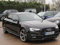 USED 2013 63 AUDI A5 3.0 SPORTBACK TDI QUATTRO S LINE BLACK ED S/S 5d AUTO 242 BHP AUTOMATIC, BANG AND OLUFSEN SOUND, SAT NAV + LEATHER