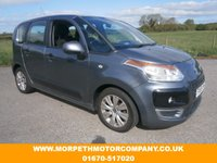 USED 2009 59 CITROEN C3 PICASSO 1.6 PICASSO VTR PLUS HDI 5d 90 BHP *** INCLUDES 12 MONTHS RAC WARRANTY***