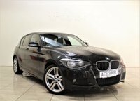 USED 2013 63 BMW 1 SERIES 2.0 116D M SPORT 5d 114 BHP + 1 PREV OWNER  + AIR CON + AUX + BLUETOOTH + SERVICE HISTORY