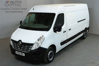 USED 2015 65 RENAULT MASTER 2.3 LM35 BUSINESS 125 BHP LWB ONE OWNER FROM NEW, MOT TILL 10/09/2018
