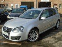 2008 VOLKSWAGEN GOLF 2.0 GT TDI 5d 138 BHP £4895.00