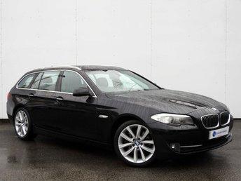 2010 BMW 5 SERIES 3.0 530D SE TOURING 5d AUTO 242 BHP £12500.00