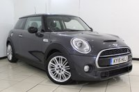 USED 2015 15 MINI HATCH COOPER 2.0 COOPER SD CHILI PACK 3DR AUTOMATIC 168 BHP SERVICE HISTORY + HALF LEATHER SEATS + SAT NAVIGATION PROFESSIONAL + MINI CONNECTED XL + BLUETOOTH + PARKING SENSOR + CRUISE CONTROL + MULTI FUNCTION WHEEL + 17 INCH ALLOY WHEELS