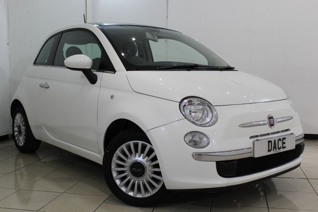 View our 2013 13 FIAT 500 1.2 LOUNGE 3DR 69 BHP