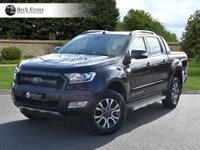 USED 2017 17 FORD RANGER 3.2 WILDTRAK 4X4 DCB TDCI 1d AUTO 197 BHP REAR ROLLER SHUTTER
