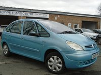 USED 2004 04 CITROEN XSARA PICASSO 2.0 PICASSO DESIRE 2 HDI 5d 89 BHP GOOD HISTORY+3 OWNERS FROM NEW