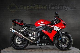 2005 05 YAMAHA R6 600CC 0% DEPOSIT FINANCE AVAILABLE £3191.00