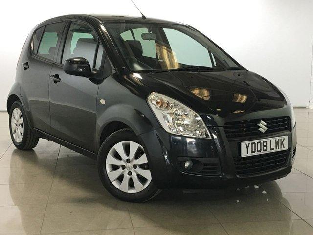 View our 2008 08 SUZUKI SPLASH 1.2 GLS PLUS 5d 74 BHP