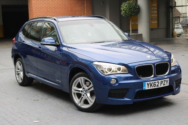 2012 62 BMW X1 2.0 XDRIVE18D M SPORT 5d AUTO 141 BHP