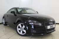 USED 2008 08 AUDI TT 2.0 TFSI 3DR 200 BHP FULL SERVICE HISTORY + LOW MILEAGE + LEATHER SEATS + PARKING SENSOR + AUXILIARY PORT + 17 INCH ALLOY WHEELS