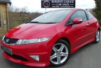 USED 2010 60 HONDA CIVIC 1.8 I-VTEC TYPE S GT 3d 138 BHP 2 Owners - 7 Service Stamps - Panoramic Roof - Cruise Control