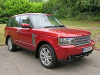 USED 2009 59 LAND ROVER RANGE ROVER 3.6 TDV8 VOGUE SE 5d AUTO 271 BHP ** FULL REAR ENTERTAINMENT **
