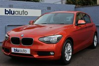 2014 BMW 1 SERIES 1.6 116D EFFICIENTDYNAMICS BUSINESS 5d 114 BHP £10200.00