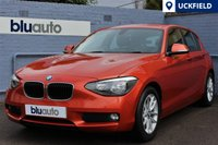 2014 BMW 1 SERIES 1.6 116D EFFICIENTDYNAMICS BUSINESS 5d 114 BHP £11450.00