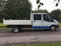 USED 2009 09 FORD TRANSIT 2.4 TDCi Duratorq 350 L Crewcab Chassis 4dr (DRW, LWB) Open 7 Days A Week !!!!