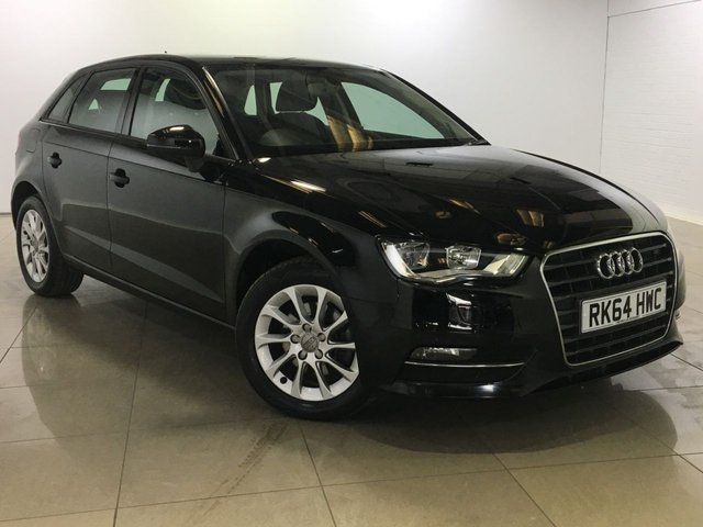 View our 2014 64 AUDI A3 1.6 TDI SE 5d 109 BHP