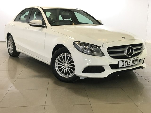 View our 2015 15 MERCEDES-BENZ C CLASS 2.1 C220 BLUETEC SE EXECUTIVE 4d 170 BHP