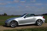 USED 2009 59 MERCEDES-BENZ SLK 1.8 SLK200 Kompressor 2dr FMSH 7 stamps Leather Sat Nav