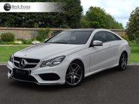 USED 2014 14 MERCEDES-BENZ E CLASS 2.1 E250 CDI AMG SPORT 2d AUTO 204 BHP