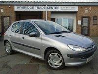 2001 PEUGEOT 206 1.4 LX 5d 74 BHP £795.00
