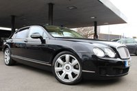 2011 BENTLEY CONTINENTAL FLYING SPUR 6.0 FLYING SPUR 4d AUTO 552 BHP £49990.00