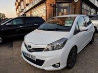 2012 TOYOTA YARIS 1.3 VVT-I TREND 5d AUTO 98 BHP £7590.00