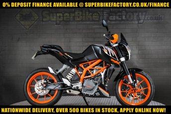 2015 KTM DUKE 390cc £2991.00