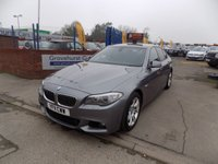 2011 BMW 5 SERIES 2.0 520D M SPORT 4d AUTO 181 BHP £10995.00