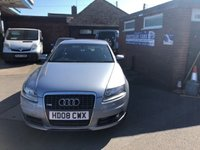USED 2008 08 AUDI A6 2.7 TDI LE MANS EDITION 4d 177 BHP ONLY 49K MILES