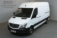 USED 2013 63 MERCEDES-BENZ SPRINTER 2.1 313 CDI 129 BHP MWB HIGH ROOF ONE OWNER FROM NEW, SERVICE HISTORY