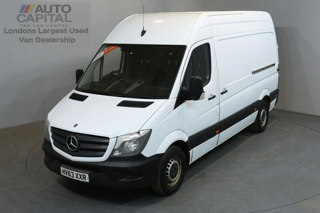 2013 63 MERCEDES-BENZ SPRINTER 2.1 313 CDI 129 BHP MWB HIGH ROOF ONE OWNER FROM NEW, SERVICE HISTORY