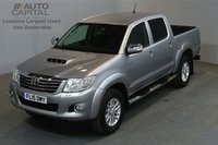 USED 2015 15 TOYOTA HI-LUX 3.0 INVINCIBLE 4X4 D-4D AUTO 169 BHP A/C ONE OWNER FROM NEW, SERVICE HISTORY