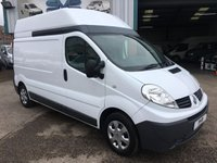 2011 RENAULT TRAFIC LWB HIGH ROOF 115 BHP WITH SAT NAV FSH IDEAL CAMPER VAN CHOICE OF  £6995.00