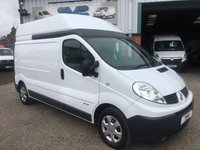 2012 RENAULT TRAFIC LWB HIGH ROOF 115BHP WITH SAT NAV *IDEAL CAMPER* £7495.00