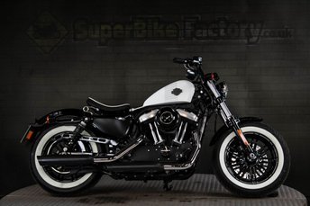 2017 HARLEY-DAVIDSON SPORTSTER 1202cc XL FORTY EIGHT 17  £8991.00