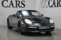 USED 2007 57 PORSCHE BOXSTER 2.7 24V SPORT EDITION 2d 242 BHP DESIRABLE SPORT EDITION SIX EDITION, BLACK LEATHER, REVERSE CAMERA, FULL DOCUMENTED SERVICE HISTORY, 19 INCH BORBET ALLOY WHEELS, BODY COLOURED ROLL OVER HOOPS
