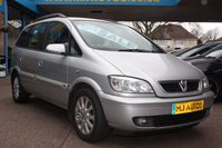 USED 2005 05 VAUXHALL ZAFIRA 1.8 ELEGANCE 16V 5dr 124 BHP PART EXCHANGE TO CLEAR | MOT'D READY TO GO!