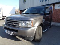 USED 2007 57 LAND ROVER RANGE ROVER SPORT 2.7 TDV6 SPORT S 5d AUTO 188 BHP