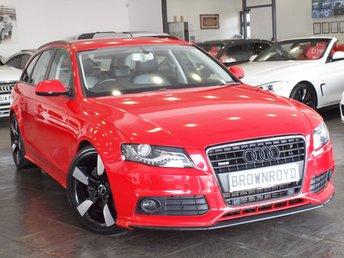 2011 AUDI A4 AVANT 2.0 TFSI QUATTRO DYNAMIK 5d AUTO 208 BHP £12490.00