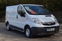 2012 VAUXHALL VIVARO 2.0 2700 CDTI 1 113 BHP £SOLD