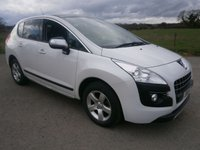 2011 PEUGEOT 3008 1.6 EXCLUSIVE HDI 5d AUTO 112 BHP £5495.00