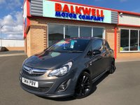 2014 VAUXHALL CORSA 1.2 LIMITED EDITION 3d 83 BHP £5999.00