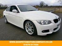 2011 BMW 3 SERIES 2.0 320D M SPORT 2d 181 BHP £9995.00