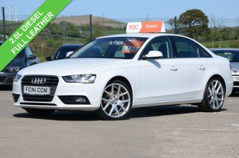 2015 AUDI A4 2.0 TDI TECHNIK *FULL LEATHER* £12250.00