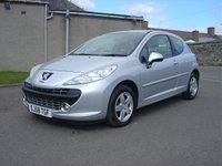 USED 2008 58 PEUGEOT 207 1.4 SPORT 3d 73 BHP MOT UNTIL FEB 2019